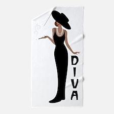 Diva Beach Towel