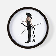Diva Wall Clock