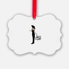 Jazz it up Ornament