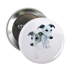 Whippet Pair Button