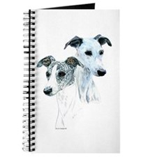 Whippet Pair Journal