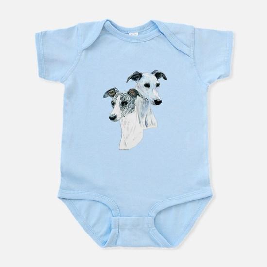 Whippet Pair Infant Bodysuit