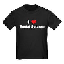 I Love Social Science T
