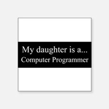 Daughter - Computer Programmer Sticker