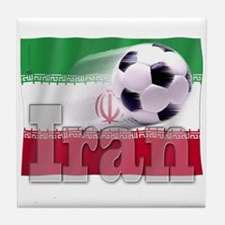 Soccer Flag Iran Tile Coaster