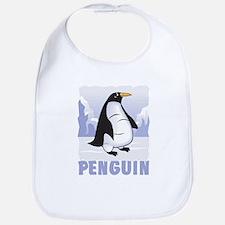 Kid Friendly Penguin Bib