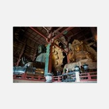 Todai-ji Buddha Statue Rectangle Magnet