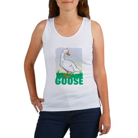 Kid Friendly Goose Women's Tank Top