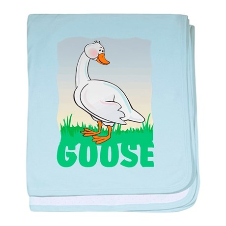 Kid Friendly Goose baby blanket