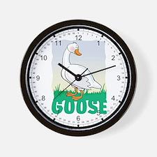Kid Friendly Goose Wall Clock