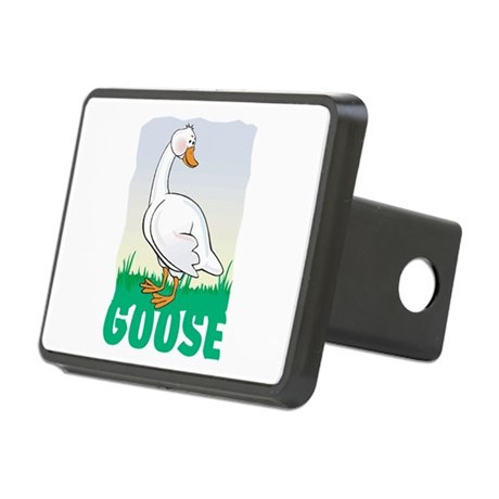 Kid Friendly Goose Rectangular Hitch Cover