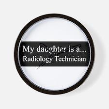 Daughter - Radiology Technician Wall Clock