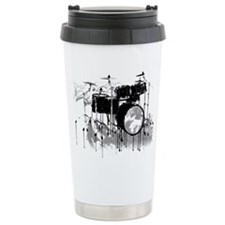 Cute Drummer Stainless Steel Travel Mug