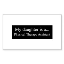 Daughter - Physical Therapy Assistant Decal