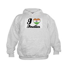 I love India Hoodie