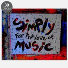 simply for the love of music Puzzle