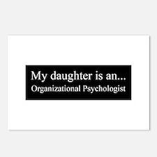 Daughter - Organizational Psychologist Postcards (