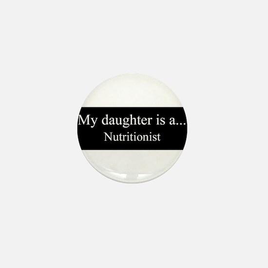 Daughter - Nutritionist Mini Button
