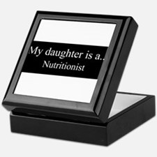 Daughter - Nutritionist Keepsake Box