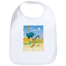 Kid Friendly Ostrich Bib