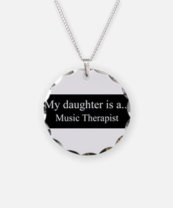 Daughter - Music Therapist Necklace