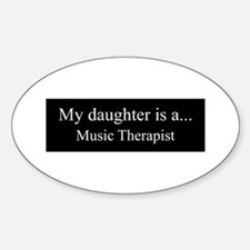 Daughter - Music Therapist Decal