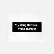 Daughter - Music Therapist 5'x7'Area Rug