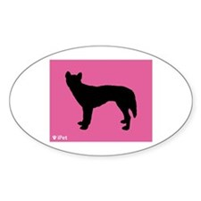 Singer iPet Oval Decal