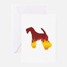 Kerry Flames Greeting Cards (Pk of 10)