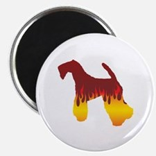 "Kerry Flames 2.25"" Magnet (100 pack)"