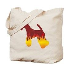 Kerry Flames Tote Bag