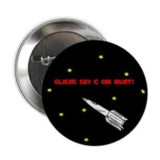 "Gliese 581 c 2.25"" Button (100 pack)"