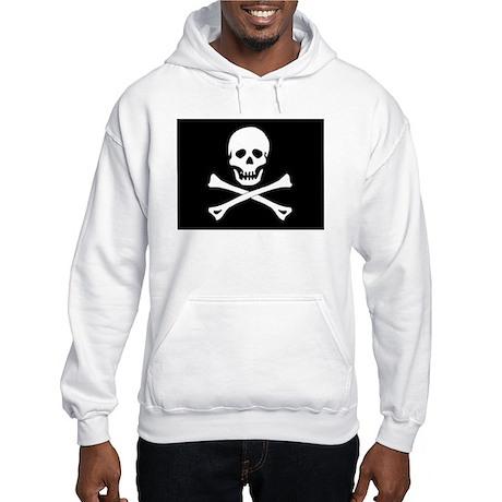 Pirate Flag Hooded Sweatshirt