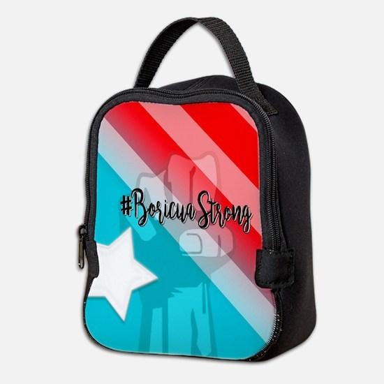 Boricua Strong Neoprene Lunch Bag