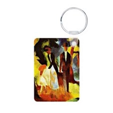 August Macke - People by t Keychains