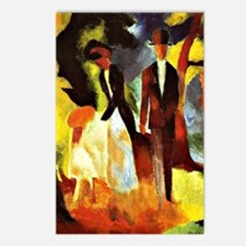 August Macke - People by  Postcards (Package of 8)