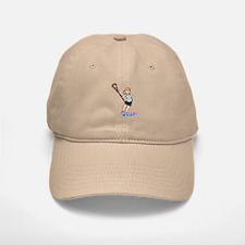 Girl's Lacrosse - Light/Blonde Baseball Baseball Cap