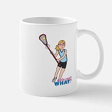 Girl's Lacrosse - Light/Blonde Mug