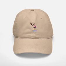 Girl's Lacrosse - Medium Baseball Baseball Cap