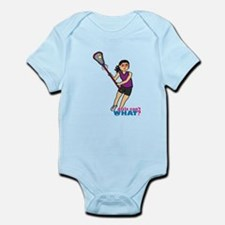 Girl's Lacrosse - Medium Infant Bodysuit
