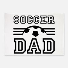 Soccer dad 5'x7'Area Rug