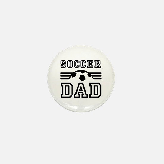 Soccer dad Mini Button