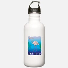 Kid Friendly Flamingo Water Bottle