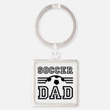 Soccer Dad Keychains For Father Coach