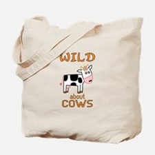 Wild About Cows Tote Bag