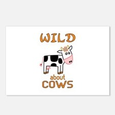 Wild About Cows Postcards (Package of 8)