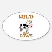 Wild About Cows Decal