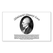Richard Henry Lee 01 Rectangle Bumper Stickers