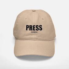Cfapa Press Baseball Baseball Cap Khaki Or White