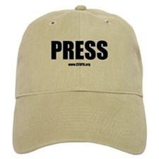 Cfapa Press Baseball Cap Khaki Or White